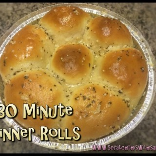 Dress up your rolls with a little garlic butter!! Just melt some butter and toss some minced garlic, basil and oregano in... Brush onto rolls as they come out of the oven!